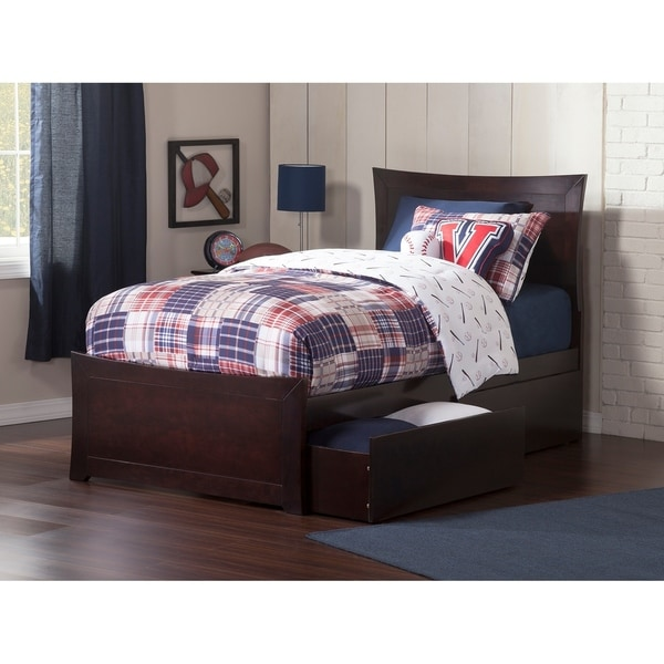 Shop Metro Twin Bed With Matching Foot Board With 2 Urban Bed