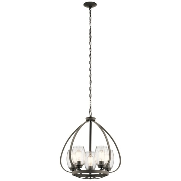Kichler Lighting Tuscany Collection 5-light Olde Bronze Chandelier