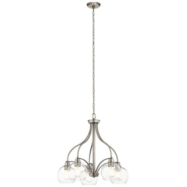 Kichler Lighting Harmony Collection 5-light Brushed Nickel Chandelier