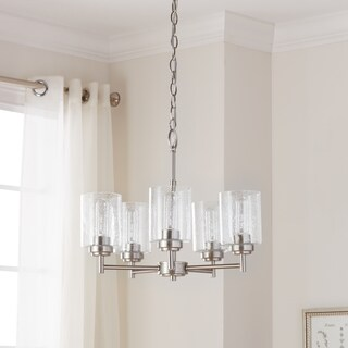 Kichler Lighting Winslow Collection 5-light Brushed Nickel Chandelier