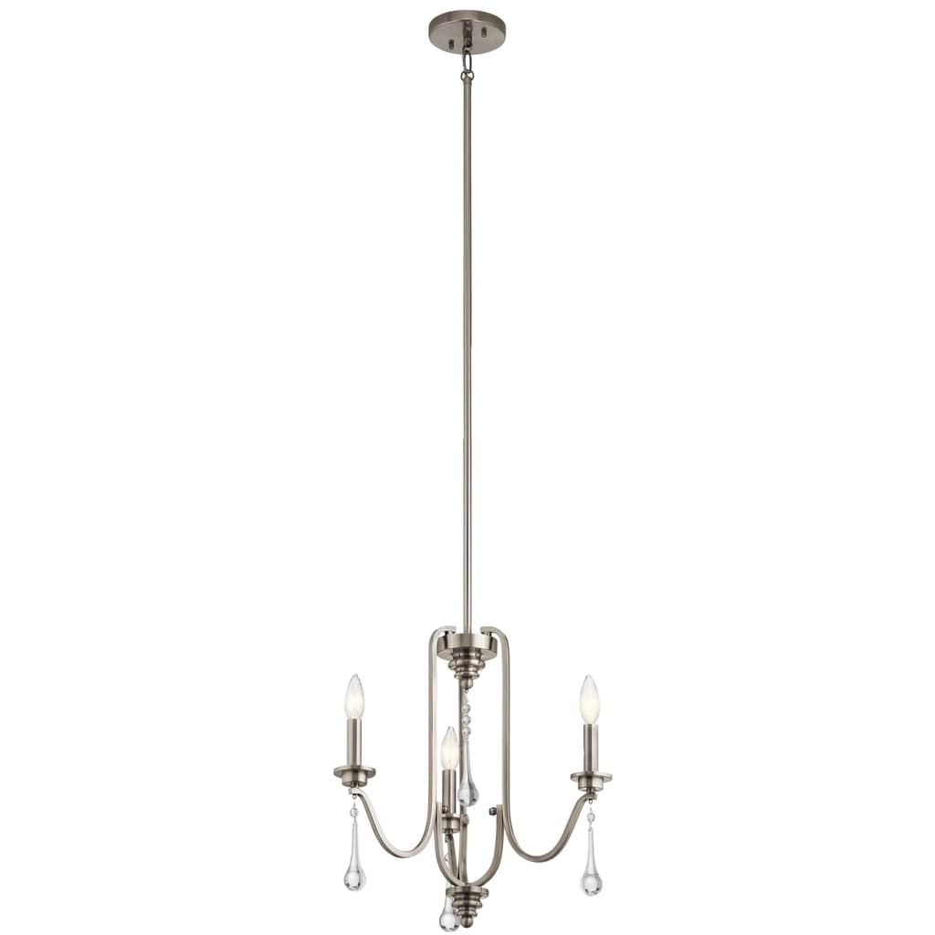 Kichler Lighting Karlee Collection 3-light Classic Pewter...