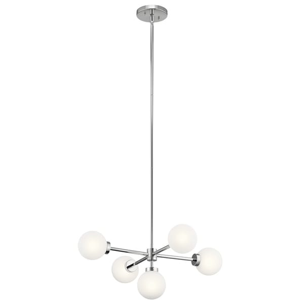 Kichler Lighting Aura Collection 5-light Chrome Chandelier