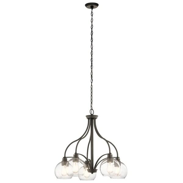 Kichler Lighting Harmony Collection 5-light Olde Bronze Chandelier