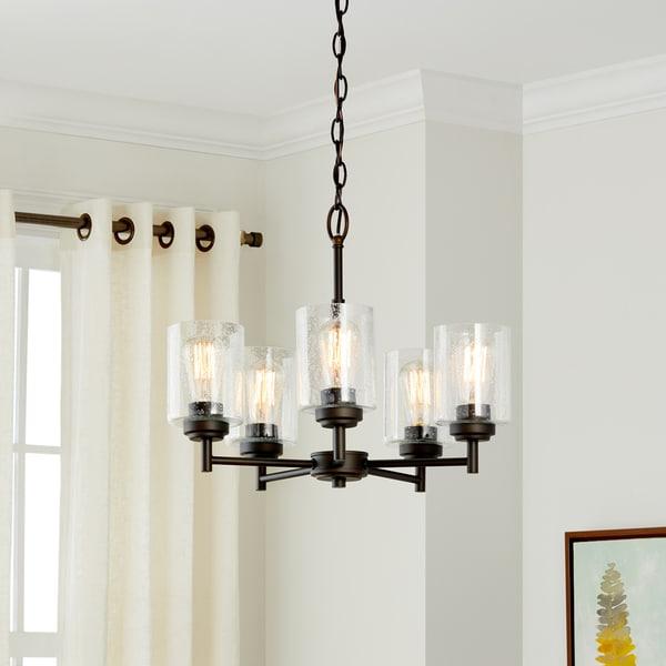 Kichler Lighting Winslow Collection 5-light Olde Bronze Chandelier