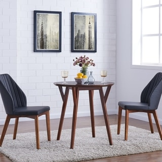 Wonderful Harper Blvd Shanna Round Dark Sienna Small Space Dining Table   Brown
