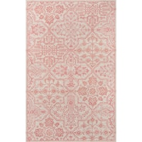 """Momeni Cosette Moroccan Tile Hand-tufted Wool Blue Area Rug (9'6 x 13'6) - 9'6"""" x 13'6"""""""
