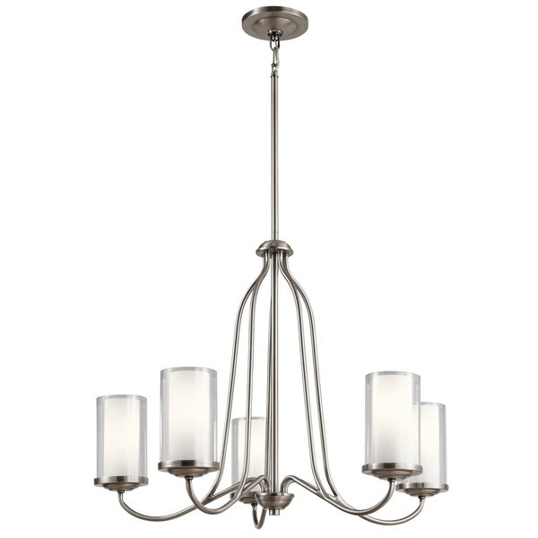 Kichler Lighting Lorin Collection 5-light Classic Pewter Chandelier