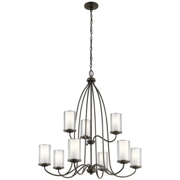 Kichler Lighting Lorin Collection 9-Light Olde Bronze Chandelier