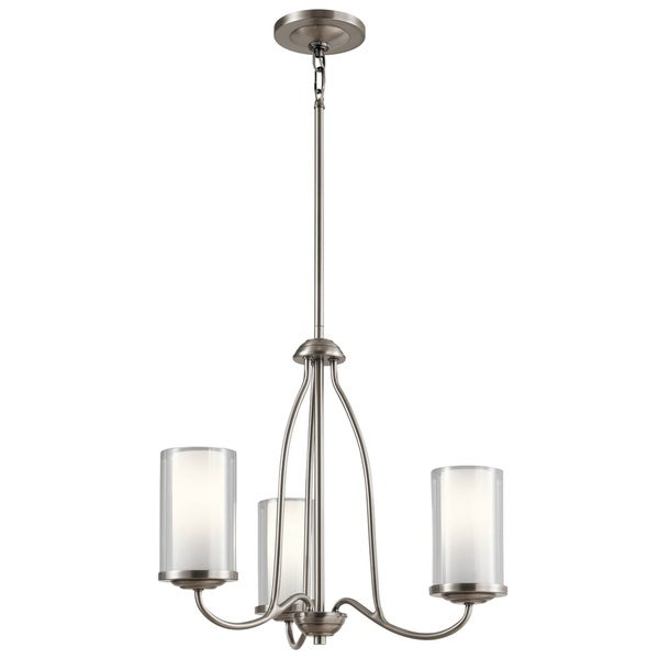 Kichler Lighting Lorin Collection 3-light Classic Pewter Chandelier