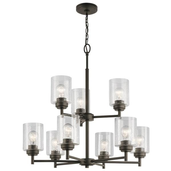 Kichler Lighting Reviews: Shop Kichler Lighting Winslow Collection 9-light Olde