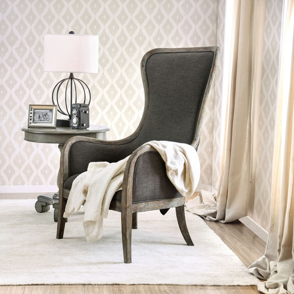 Simple Grey Accent Chair Remodelling