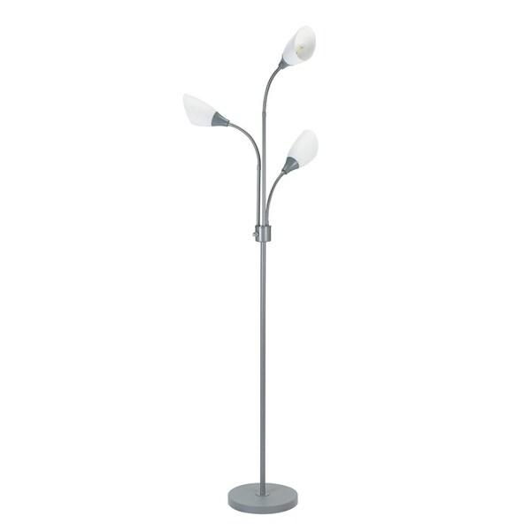 Catalina Lighting 20743-000 Medusa 3 Light Adjustable Head Floor Lamp