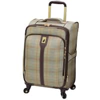 "London Fog Knightsbridge 21"" Expandable Spinner Carry-On"