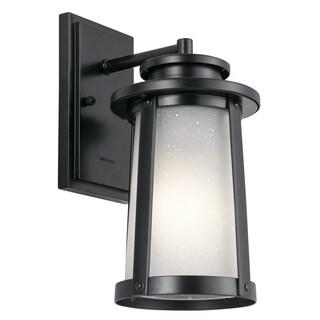 Kichler Lighting Harbor Bay Collection 1-light Black Outdoor Wall Lantern