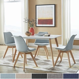 Arlo Two Tone 5-Piece Dining Set by iNSPIRE Q Modern