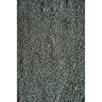 Miami Turquoise Gray Modern Soft Shag Area Rug