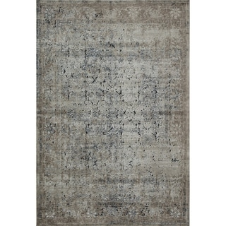 Cambridge Tan Taupe Vintage Distressed Oriental Rug