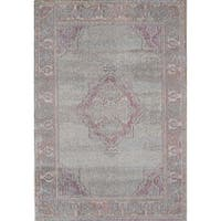 "Beverly Multi Vintage Distressed Bohemian Area Rug - 7'10"" x 9'10"""