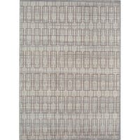 Rugs America Asteria Ivory/Grey Area Rug - 8' x 10'