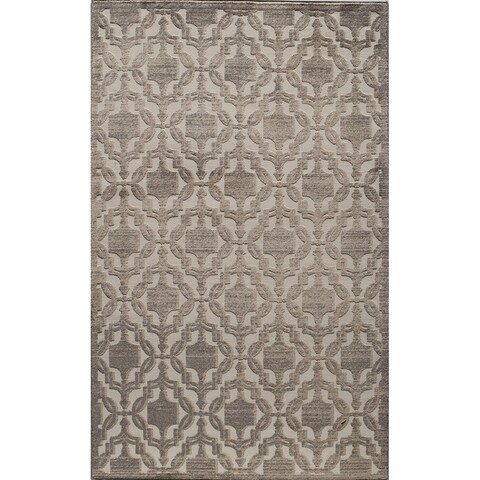 Riviera Traditional Medallion Tan Area Rug - 8' x10'