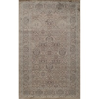 Riviera Traditional Oriental Brown Area Rug - 8' x 10'