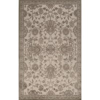 Riviera Traditional Oriental Tan Area Rug - 8' x 10'