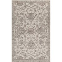 Riviera Traditional Oriental Cream Area Rug - 8' x 10'