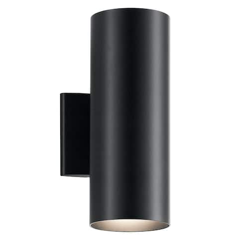 Havenside Home Laurel Bay 2-light Black Indoor/Outdoor Wall Sconce