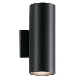 Kichler Lighting 2-light Black Indoor/Outdoor Wall Sconce