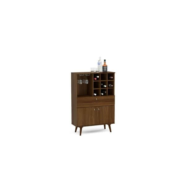 Boahaus Elegant Bar Cabinet Dark
