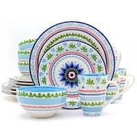Euro Ceramica Marrakesh 16-piece Dinnerware Set (Service for 4)