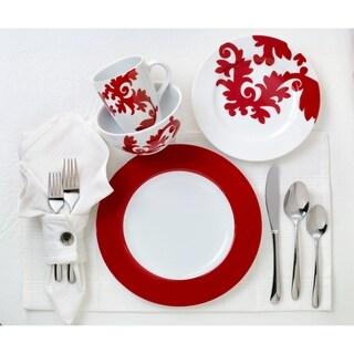 Euro Ceramica Calarama 16-piece Dinnerware Set, Service for 4