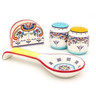Euro Ceramica Zanzibar 4-piece Completer Set