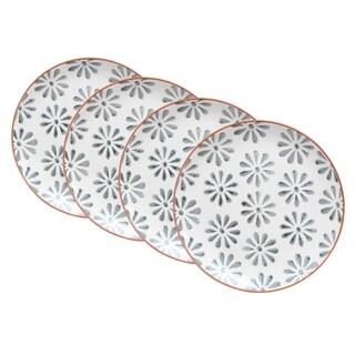 Euro Ceramica Margarida Salad Plates (Set of 4)