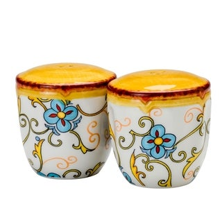 Euro Ceramica Duomo 2-piece Salt and Pepper Set