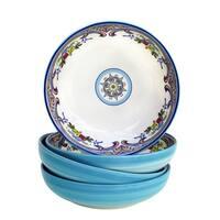 Euro Ceramica Zanzibar Pasta Bowls (Set of 4)