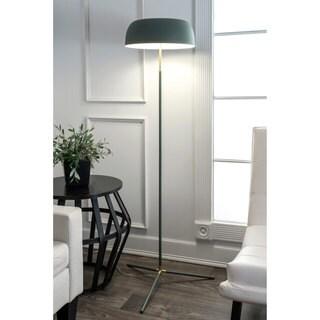 Watch Hill 60'' Phoebe Brass & Iron Shade Floor Lamp
