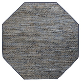 Earth First Blue Jeans (8'x8') Octagon Rug - 8' x 8'