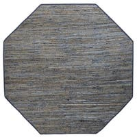 Earth First Blue Jeans (8'x8') Octagon Rug
