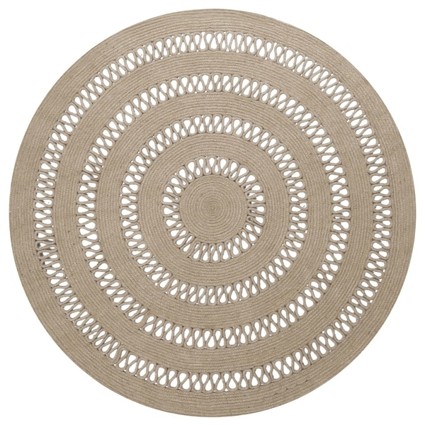 Shop Earth First Jute Loop Stitched (5x5') Round Rug