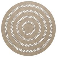 Earth First Jute Loop Stitched (5x5') Round Rug