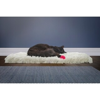 FurHaven Cozy Self-Warming Convertible Cuddle Pet Bed & Cat Mat