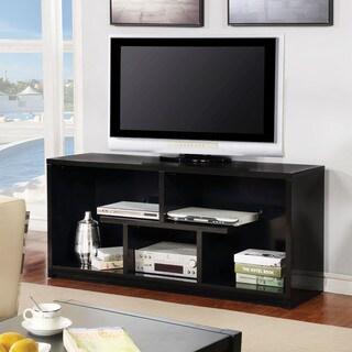 Furniture of America Sempell II Modern Geometric 72-inch TV Stand - 73 inches