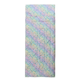 Kids Zone Ombre Floral Sleeping Bag
