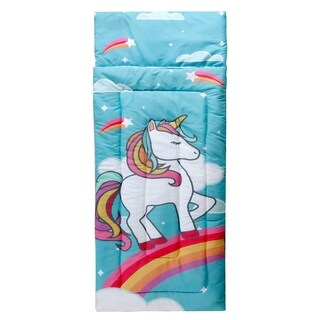 Kids Zone Unicorn Sleeping Bag