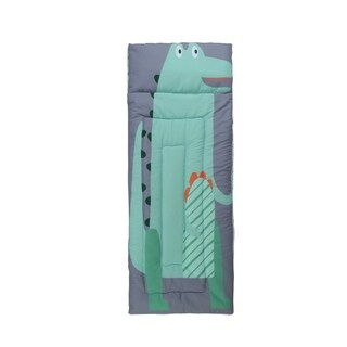 Kids Zone Alligator Sleeping Bag