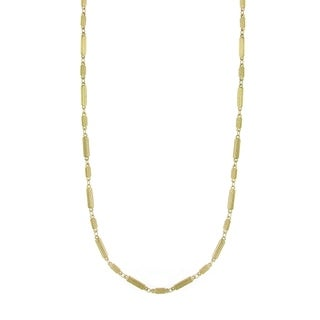 Downton Abbey Gold Tone Multi Rectangles Chain Necklace 36in
