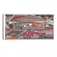 Design Art 'A Page of the Dastan - i Amir Hamza' Canvas Art Print