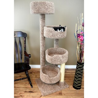 New Cat Condos Solid Wood Cat Stairway Cat Tree Tower (2 options available)