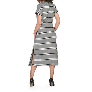 Bluberry Women's Maisie Striped T-shirt Dress